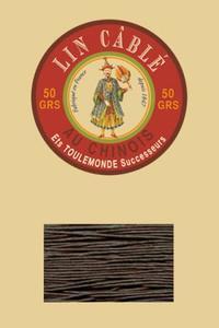 332皮革用麻蜡线--50g线轴--298苔藓色