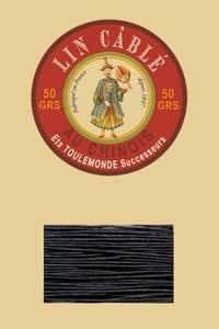 332皮革用麻蜡线--50g线轴--812深海蓝色