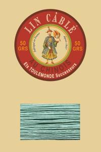 332皮革用麻蜡线--50g线轴--448玉色