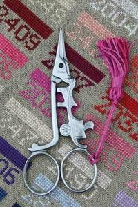 刺绣剪刀 Sajou - 马车造型