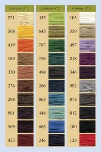 332皮革用麻蜡线--50g线轴--494褐色
