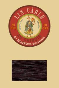 432皮革用麻蜡线--50g线轴--369暗葡萄紫色
