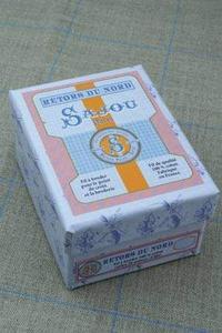通用收纳盒 - 复古绣线图案