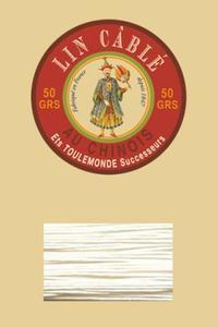 332皮革用麻蜡线--50g线轴--105自然色