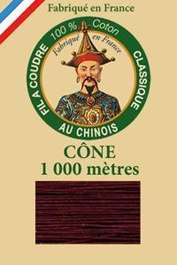 中国人牌经典棉线 圆锥1000m -- 6546-主教红色