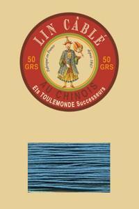 332皮革用麻蜡线--50g线轴--863鸭蛋青色
